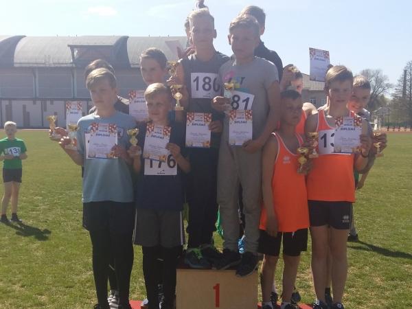Saldus sporta skolas atklātās sacensības vieglatlētikā U12 un U14 vecuma grupām