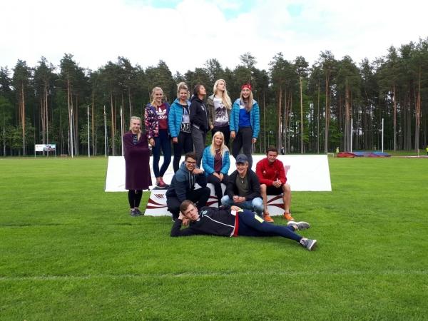 LSSS sportistiem panākumi desmitcīņā, septiņcīņā un Valmieras atklātajā čempionātā