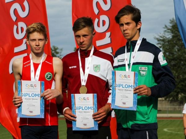 VI Latvijas jaunatnes vasaras olimpiādes sacensības vieglatlētikā