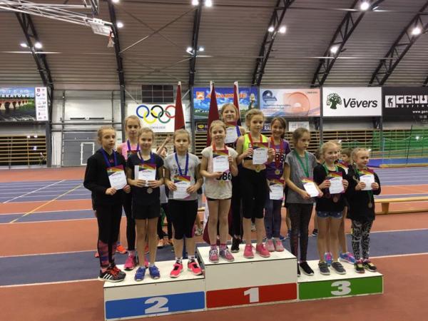 Kurzemes zonas sacensības U12 grupas jaunajiem vieglatlētiem
