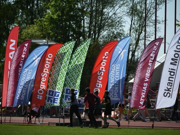 IAAF Jauno vieglatlētu diena Ogrē