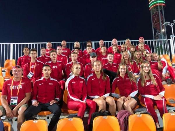 Latvijas U18 izlase atgriežas no Eiropas čempionāta