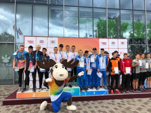 LSSS vieglatlētu veikums Latvijas Jaunatnes olimpiādē