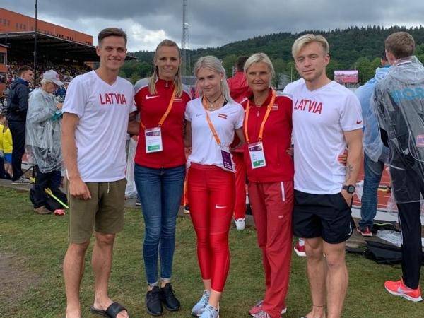 LSSS vieglatlēti Latvijas izlasē labi startē Eiropas čempionātos